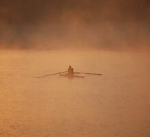 Early Morning Rower by Richard Nix