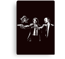 Black Sails Mashup Canvas Print