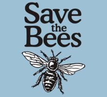 Save The Bees Beekeeper Quote Design Kids Clothes
