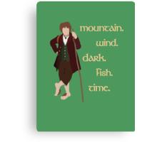 Bilbo's Answers Canvas Print
