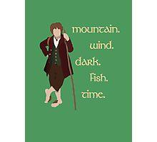 Bilbo's Answers Photographic Print