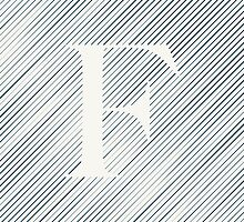 Striped F by DLUTEDDESIGN