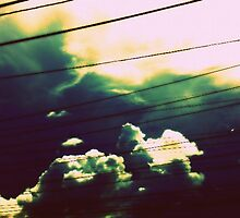 wired sky by Ashley Justiniano