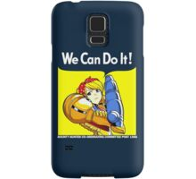 We can do it! Samsung Galaxy Case/Skin