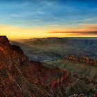 Grand Canyon Sunset by Modified
