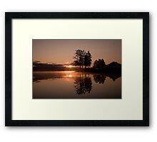 New Dawn Reflections Framed Print