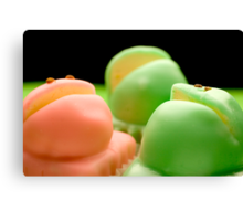 Balfour's Frog Cakes Canvas Print