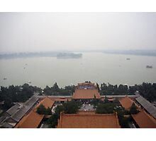 Overview of Summer Palace Photographic Print