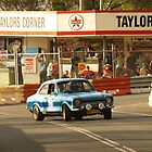 Sideways out of Taylors. by 61mini
