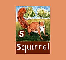 S is for Squirrel by DavidDonovan