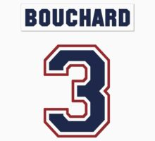 Butch Bouchard #3 - white jersey Kids Clothes