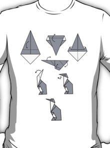 Origami Penguin T-Shirt