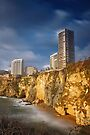 Beirut Over The Rock by Tony Elieh