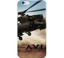 AH-64 Apache Helicopter iPhone Case/Skin