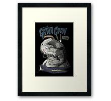 Sewer Lords - Gator Goon Framed Print
