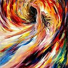 In The Vortex Of Passion — Buy Now Link - www.etsy.com/listing/221542565 by Leonid  Afremov