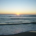 surfer sunrise by ChristineBetts