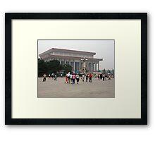 Forbidden City in Tianamen Square Framed Print