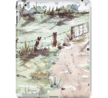 A farm gate  iPad Case/Skin