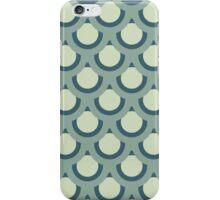 Neutral Blue -Large Circle iPhone Case/Skin