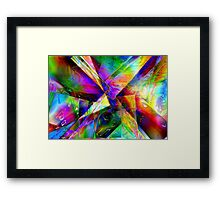 Shaft of light  Framed Print