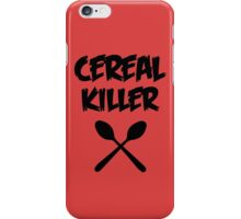 CEREAL KILLER (Muesli / cornflakes) iPhone Case/Skin