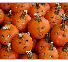 Pumpkin Heads by susi lawson