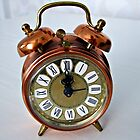 Baby Ben - Miniature Brass Alarm Clock by BlueMoonRose