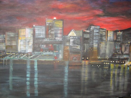 Montreal is Alive   /   true   joie de vivre   ( french ,   Joy of Living )        (  My Paintings )  by Rick  Todaro