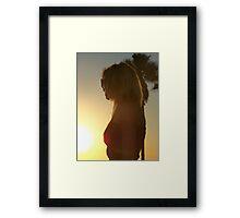 California Girl Framed Print