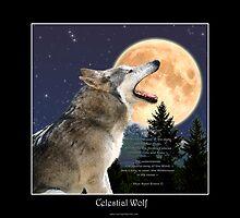 CELESTIAL WOLF II & POEM by Skye Ryan-Evans