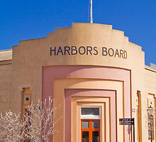 Harbors Board Building at Port Adelaide by Elana Bailey