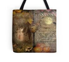 October - Vine Moon Tote Bag