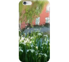 Abstract at Weisport Canal  iPhone Case/Skin