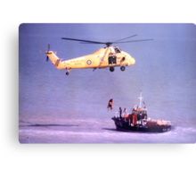 The Rescue, Broadstairs, Kent, 1980 Metal Print