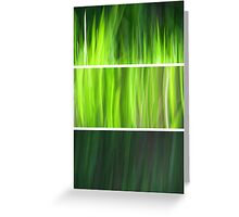 Organic - Triptych Greeting Card