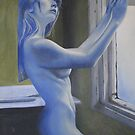 Morning Blues by Bob  Thompson