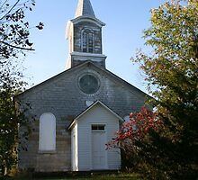 Come to the church in the wild woods. Kindly leave a contribution in the pail. by Allen Lucas