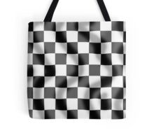 Chequered Flag Slight Ripple Tote Bag