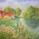 Willy Lott's Cottage by bevmorgan
