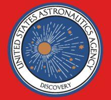 United States Astronautics Agency - Discovery Logo - 2001 by Buleste