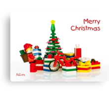Merry Christmas 2 Canvas Print
