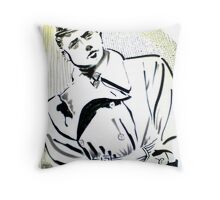 Trenchcoat Throw Pillow