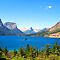 Glacier Park Lake View by Tamara Valjean