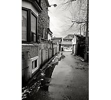 Wet Laneway Photographic Print