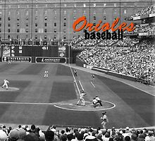 Orioles Tee by don thomas