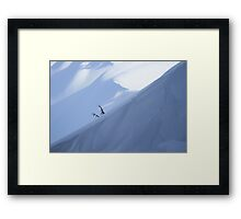 The Big Sleep -Crater Lake National Park Framed Print