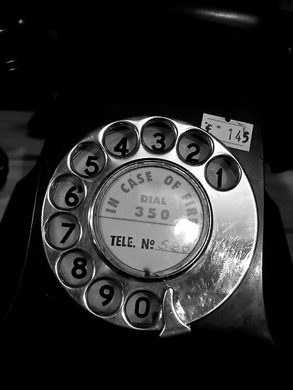 Telephone by Christine Leman