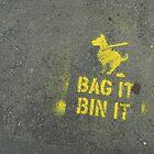 Bag It Bin It by Christine Leman