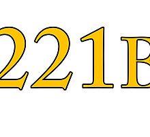 221B Baker Street Sherlock by LouisPayne458